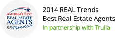 Brandon Jordan 2014 Real Trends Best Real Estate Agent Award Winner