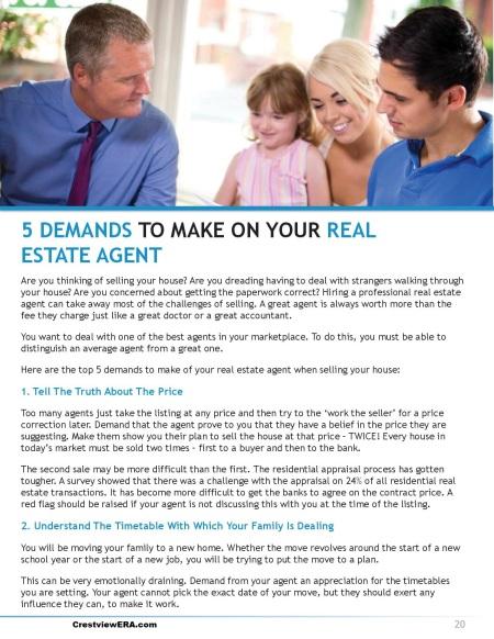 5 demands