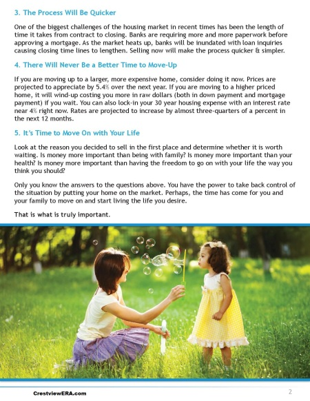 5 reason to sell page 2