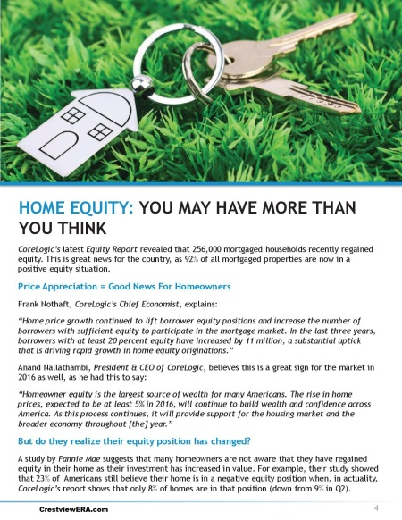 home equity page