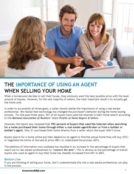 Importance of using an agent